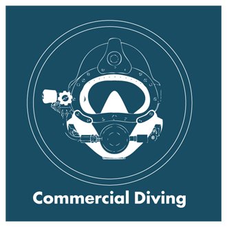 ADCO Professional Diving Services - Commerical Diving Image Link - Kirby Morgan Helmet