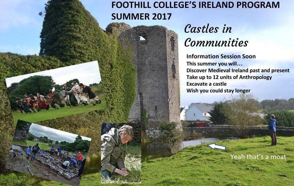 Foothill College's Ireland Program Summer 2017