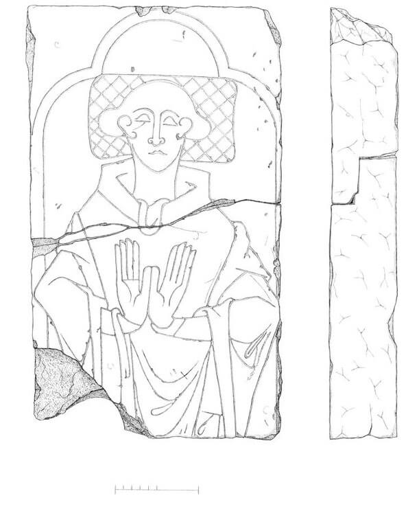 Illustration of Monk's Stone