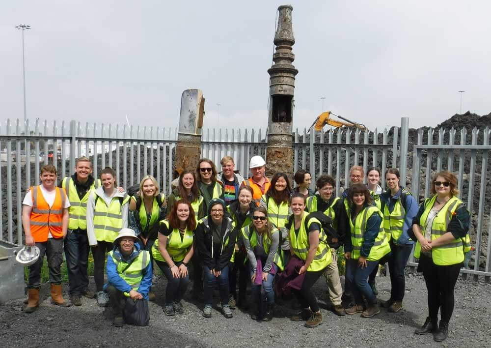 University of Minnesota visits Dublin Port and the ABR project